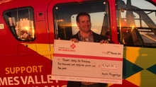 Over £5,000 raised for Air Ambulance