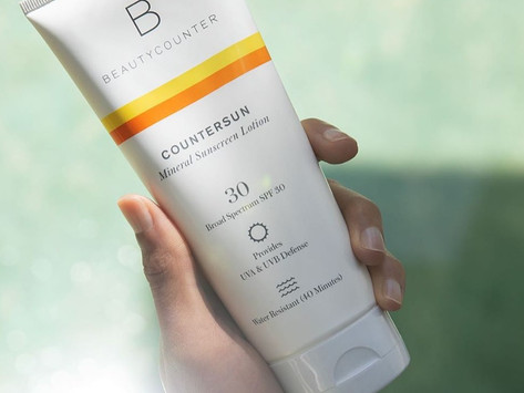 Beautycounter Countersun Mineral Sunscreen Lotion SPF 30 Review