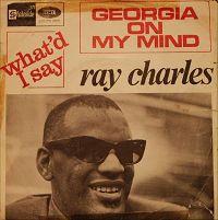 Copertina del single di Ray Charles che fece tanto scalpore