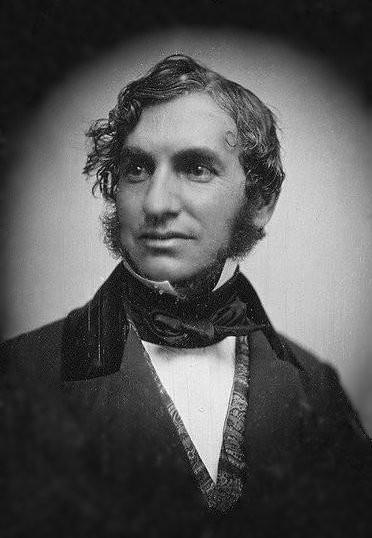 Un bel dagherrotipo di Henry Longfelloiw del 1850