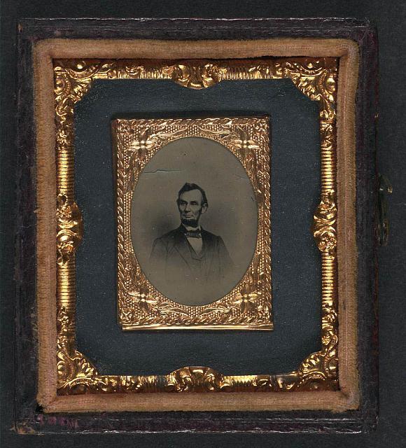Foto originale di Abramo Lincoln, 1863