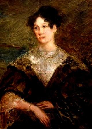 Un bel dipinto della sfortunata Mary Potter a 20 anni