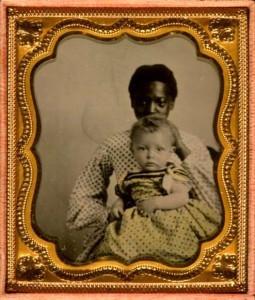 Ecco Harriet nel 1840, quando faceva da balia ai figli del suo padrone alla piantagione