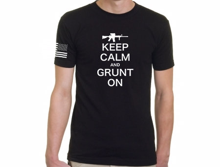 Keep Calm and GRUNT on