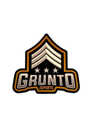 GRUNTo Esports Logo Sticker