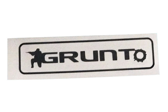 GRUNTo Original Logo Sticker in Black
