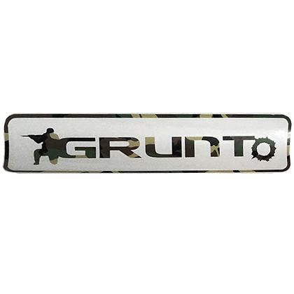 GRUNTo Original Woodland Tri-Color Sticker