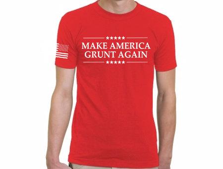 Make America GRUNT Again