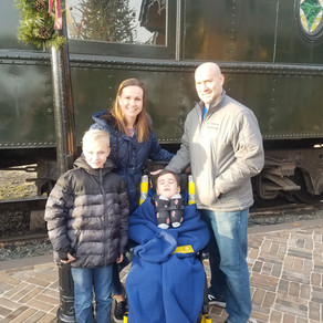 Train rides with the family are the best!