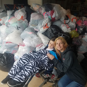 Clothing Fundraiser was a huge success!