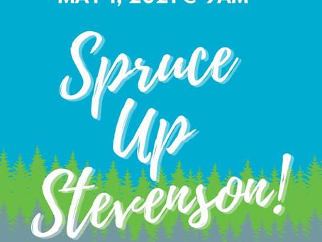 Calling Volunteers for Spruce Up Stevenson!