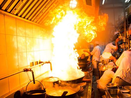 Kitchen Fires: When a Naïve Fire Turns Hostile