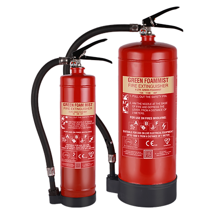 Green Foam Mist- Portable Water Mist Based Extinguishers