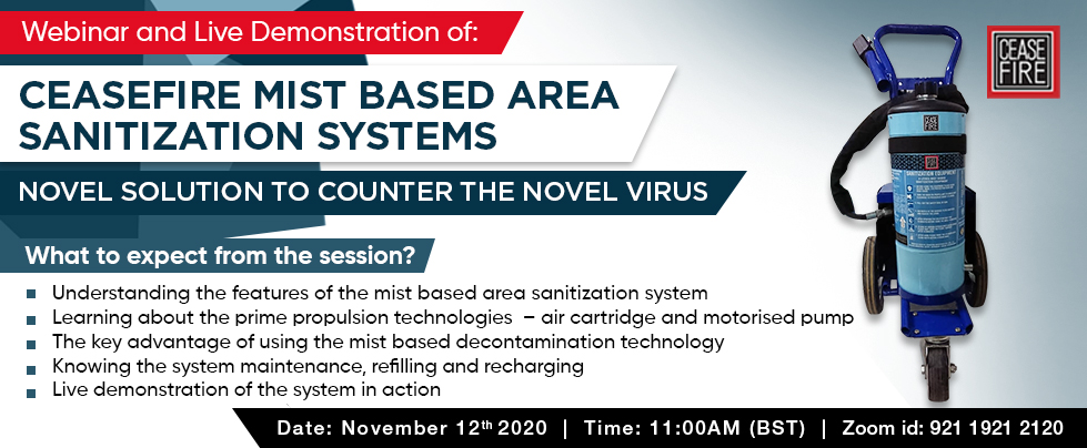 Sanitization (November 12)