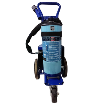 9 Ltrs Trolley Mounted Mist Based Area Sanitisation System (Motorised Pump Type)