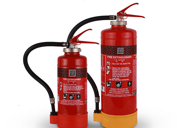 Water Mist Based Cartridge Type Fire Extinguishers
