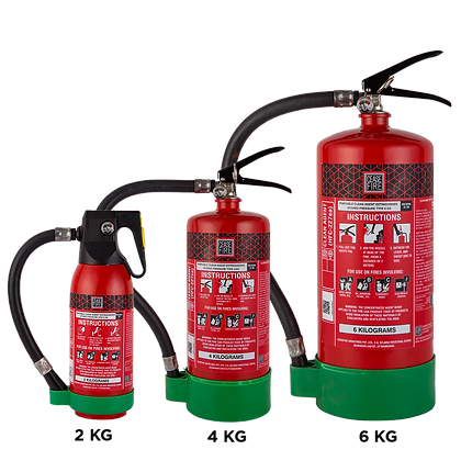 HFC227ea Clean Agent Based Portable (Stored Pressure Type) Fire Extinguishers