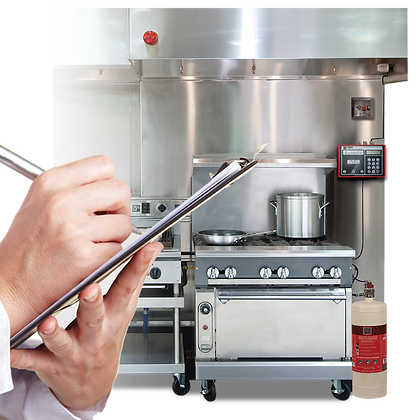 Wet Chemical Based Kitchen Fire Suppression (Pre-Engineered System)
