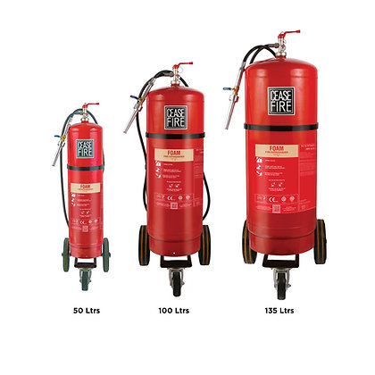 Foam Based Trolley Mounted Fire Extinguishers