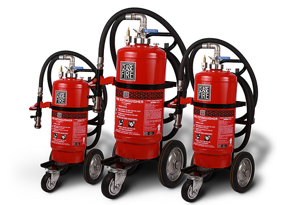 Foam Based Wheeled Fire Extinguishers