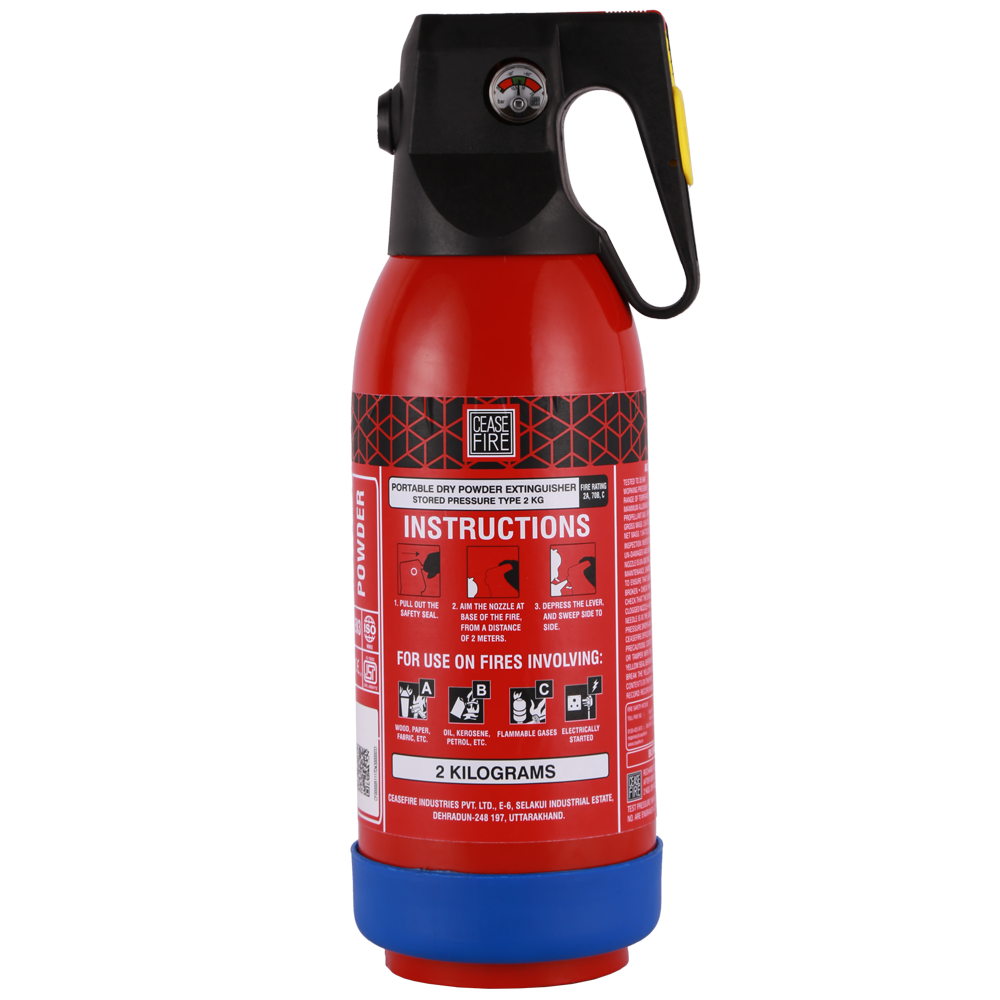Map 90 Fire Extinguisher.Abc Map 90 Based Portable Stored Pressure Type Fire Extinguisher 2kg Ceasefire Ind P Ltd