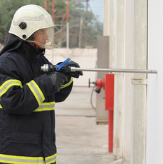 Ceasefire LancePro - Hammer drill Equipped Watermist Based Fire Fighting Guns