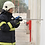 Thumbnail: LancePro - Hammer drill Equipped Watermist Based Fire Fighting Guns