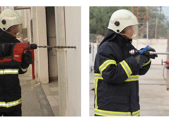 ​​Ceasefire LancePro - Hammer Drill Equipped Watermist Based Fire Fighting Syste