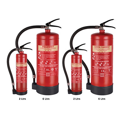 Foam Mist Based Portable Fire Extinguisher