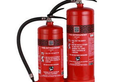 Water Based Portable Fire Extinguishers