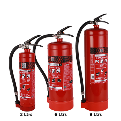 Watermist Based Portable (Stored Pressure Type) Fire Extinguishers