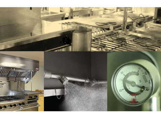 Ceasefire Enviro Series Water Mist Based Kitchen Fire Suppression System