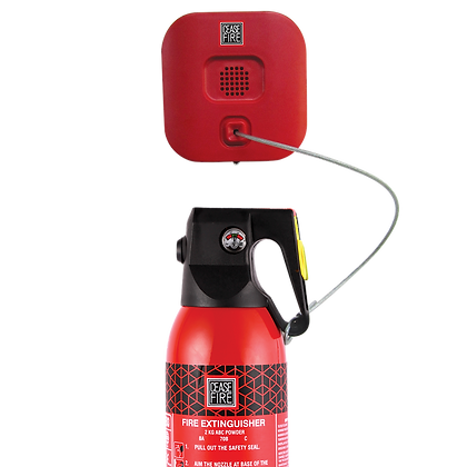 Instalert - Anti Theft cum Fire Alarm System