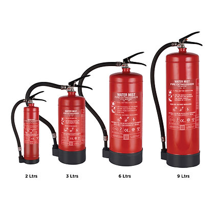 Watermist Based Portable Fire Extinguishers