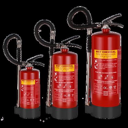 Wet Chemical Based Portable Extinguishers