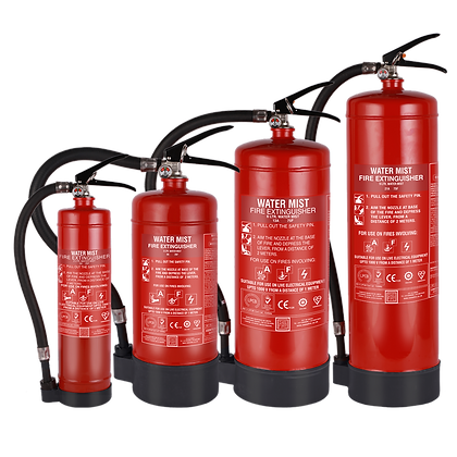 Portable Water Mist Based Extinguishers