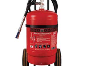 ABC Powder Based Extinguishers (Trolley Mounted) Stored Pressure Type