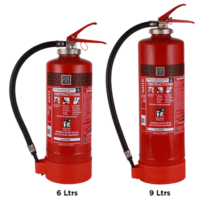Water Based Portable (Spot Pressure Type) Fire Extinguishers