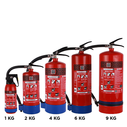 B Plus Special Agent Based Portable (Stored Pressure Type) Fire Extinguishers