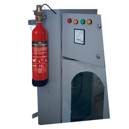 In-Panel Tube Based Fire Suppression System (CQRS)-Indirect