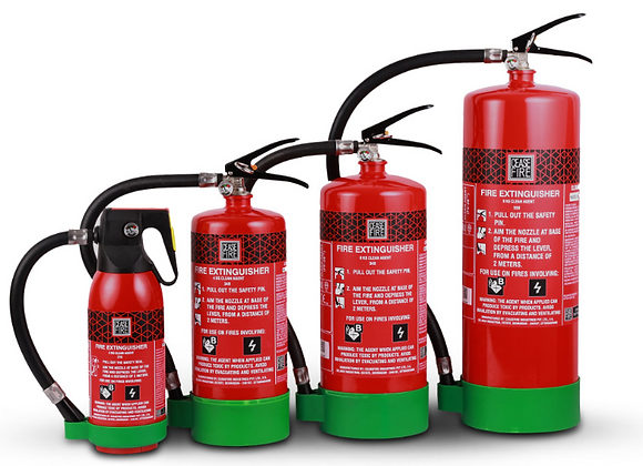 Fe36 Based (Clean Agent) Fire Extinguishers