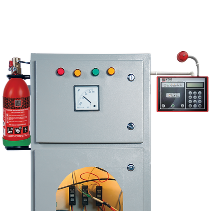 In-Panel Tube Based Fire Suppression-Direct (Engineered System)