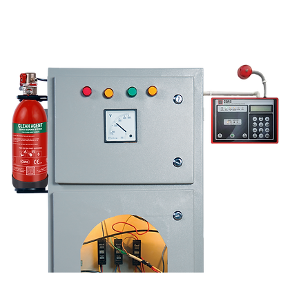 In-Panel Tube Based Fire Suppression System (CQRS) Direct