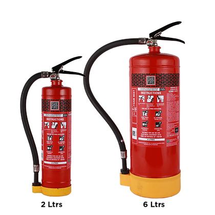 Foammist Based Portable (Stored Pressure Type) Fire Extinguishers