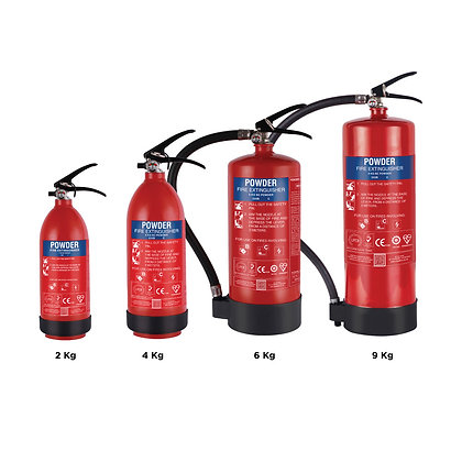 B Plus - Special Portable Fire Extinguishers for Class B Fires