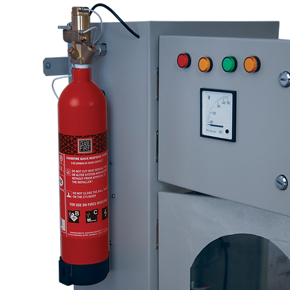 In-Panel Tube Based Fire Suppression-Indirect (Engineered System)