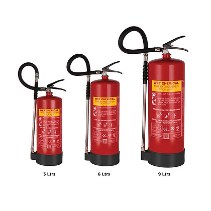 Wet Chemical Based Portable Fire Extinguishers