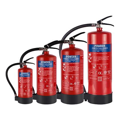 B+ Powder Based Extinguishers