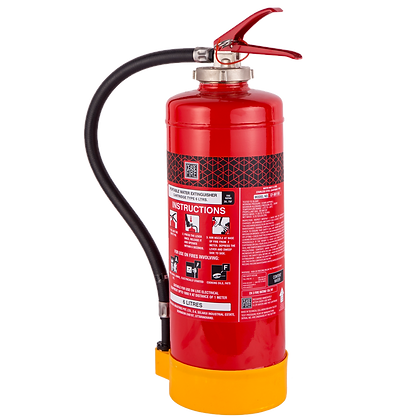 Watermist Based Portable (Spot Pressure Type) Fire Extinguishers