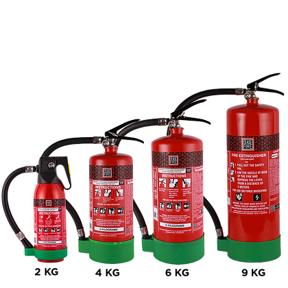 HFC 236fa Clean Agent Based Portable (Stored Pressure Type) Fire Extinguishers